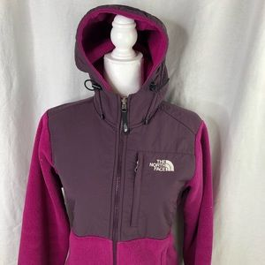 The North Face Womens Purple Denali Jacket in EUC